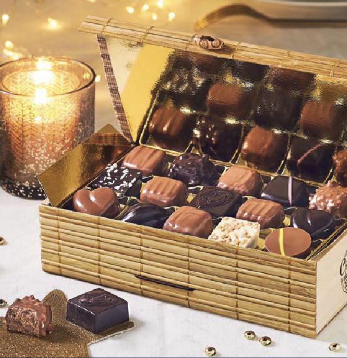 Vente de chocolats pour Noël 2019